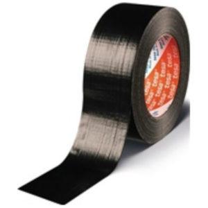 Gewebeband Universal duct tape 4613 schwarz, Länge 50 m, Breite 48 mm, Rolle, TESA