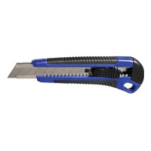 Cuttermesser Klingenbreite 18 mm, Länge 163 mm, Kunststoff, PROMAT