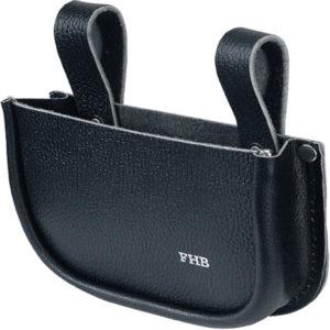 Nageltasche, einfach FRANZ ca. B18xH12xT4cm schwarz Vollrindleder FHB