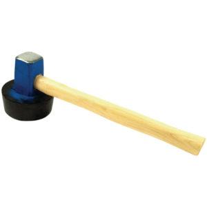 Plattenlegerhammer 1500 g, (anvulkanisiert)