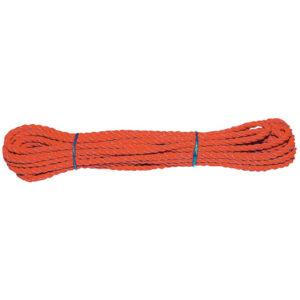 Mehrzweckseil Länge 10 m, orange, BRAUN