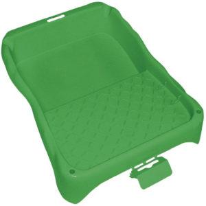 Lackwanne ERGOLINE, verschiedene Größen, grün Polypropylen lösemittelbeständig