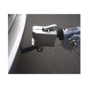 Anhänger-Kastensicherung Stahl verzinkt L190xB125xH114mm Gewicht 1,9 kg silber Karton