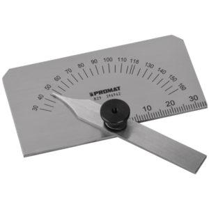 Spiralbohrerschleiflehre m.verstellb.Winkel v. 30 Grad-160 Grad PROMAT