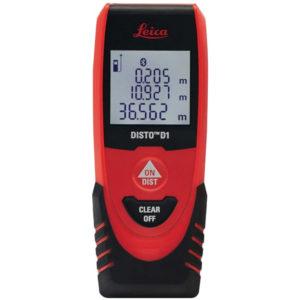 Laserentfernungsmesser DISTO D1 0,2 – 40 m ± 2 mm IP 54 LEICA
