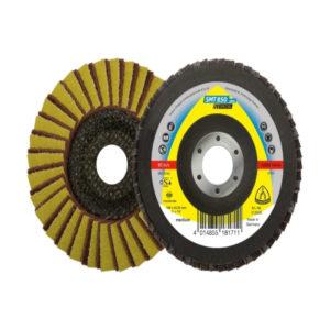 Klingspor, SMT 850 plus, Special, Schleifmopteller für Edelstahl, 125 mm Durchmesser, 22,23 mm Bohrung