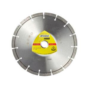 Klingspor, DT 350 U Extra, Diamanttrennscheiben für Winkelschleifer für Baustellenmaterialien, Beton
