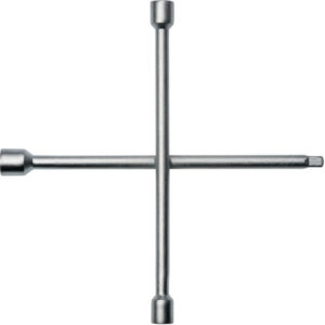 Kreuzschlüssel, 17 x 19 x 22 x 12,5(1/2Zoll 4-kant), L350 mmxB350mm, PROMAT