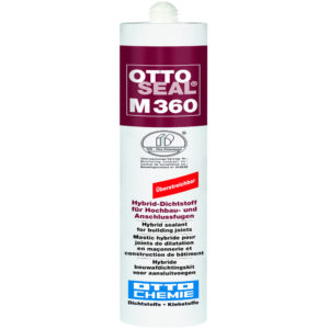 OTTOSEAL® M360, Hybrid-Dichtstoff für Hochbau- und Anschlussfugen, für innen und außen