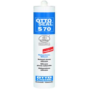 OTTOSEAL® S70, Premium-Naturstein-Silicon, für innen und außen, verschiedene Farben